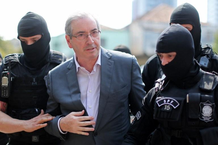 Eduardo Cunha, exjefe de la Cámara de Diputados de Brasil