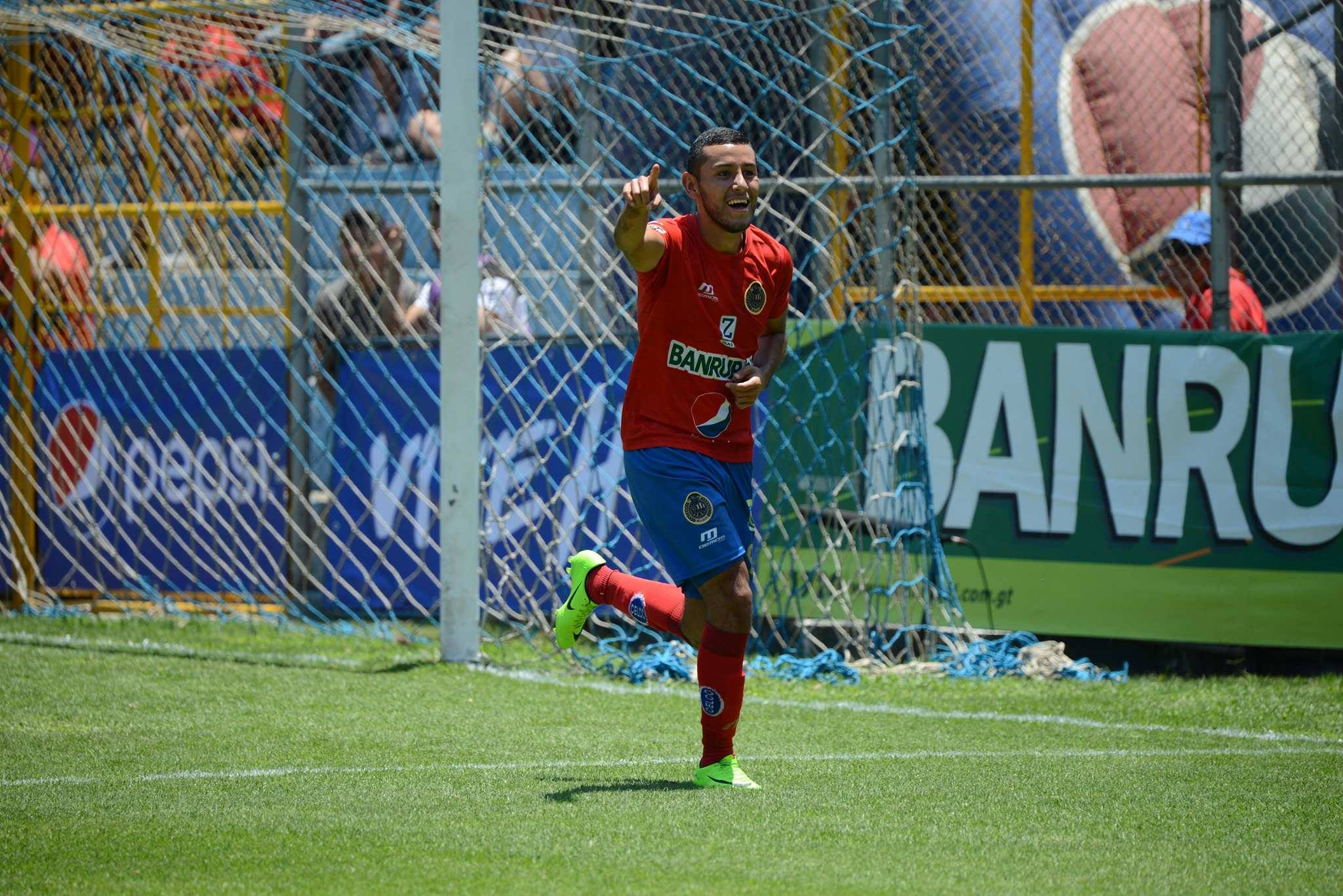 Gol de Cristian Jiménez contra Malacateco