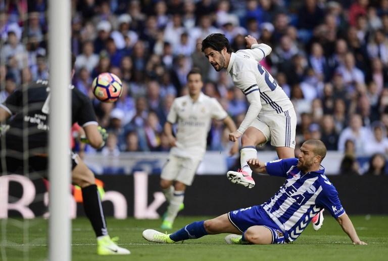 Gol de Isco contra el Alavés
