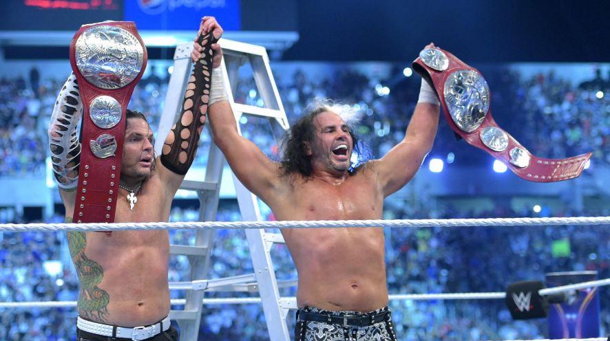 Los Hardy Boyz regresan en Wrestlemania 33