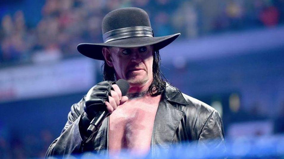 The Undertaker habla en el ring