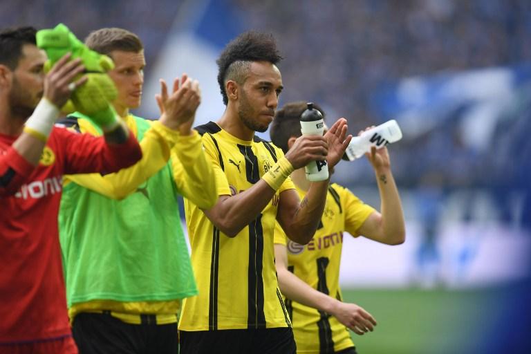 Borussia Dortmund celebrando