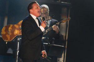 Luis Miguel en un concierto en Veracruz
