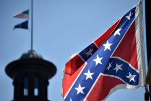 Bandera confederada en Carolina del Sur
