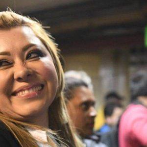 Emilenne Mazariegos, exdiputada.
