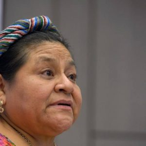 "Rigoberta Menchú: ""La crisis que afecta a nuestro país no inició la semana pasada"""