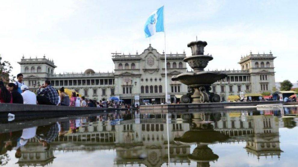 Gobierno de Alejandro Giammattei. Palacio Nacional de la Cultura.