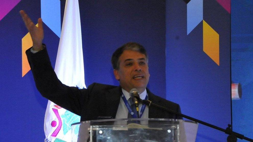 Edwin Escobar, excandidato presidencial y exalcalde de Villa Nueva.
