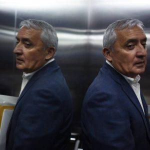 Otto Pérez Molina presenta amparo luego que se le negara arresto domiciliario