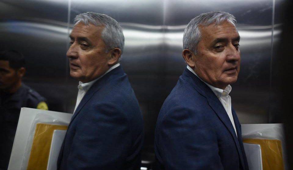 General Otto Pérez Molina, expresidente de Guatemala.
