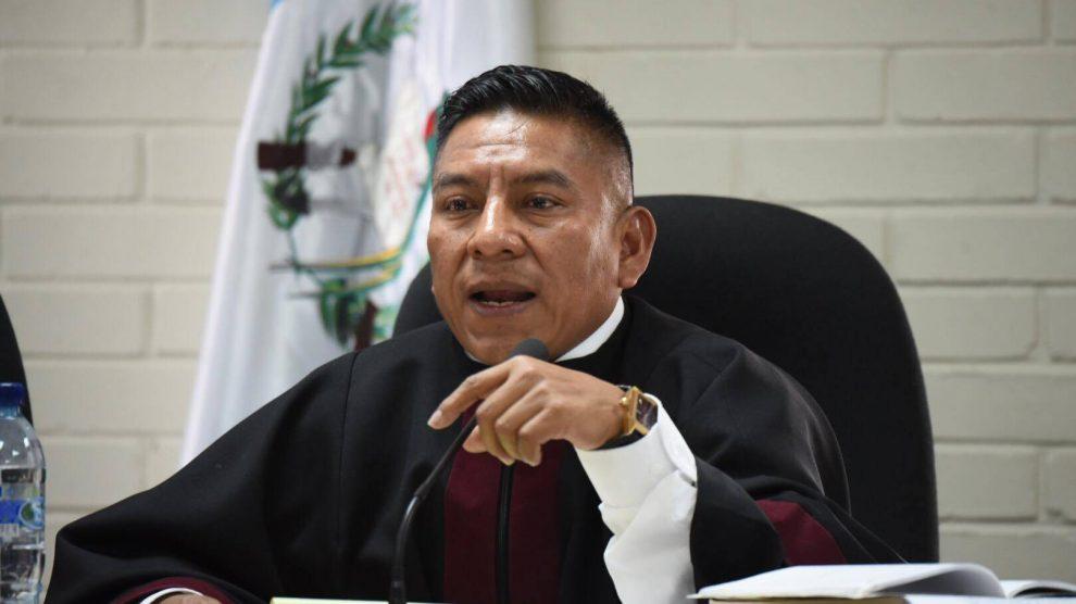 Juez Pablo Xitumul
