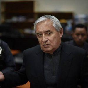Expresidente Otto Pérez insiste en pedir arresto domiciliario