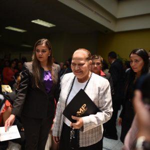 Fiscal general, María Consuelo Porras Argueta.