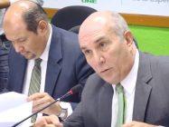 Diputado Mario Taracena, presidente de la comisión pesquisidora contra Gloria Porras y Francisco de Mata Vela.