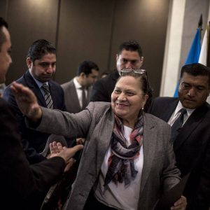 María Consuelo Porras, jefa del MP.