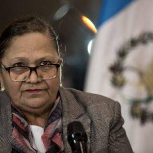 María Consuelo Porras, fiscal general