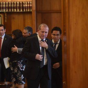Nester Vásquez, expresidente de la CSJ competirá por la CC.
