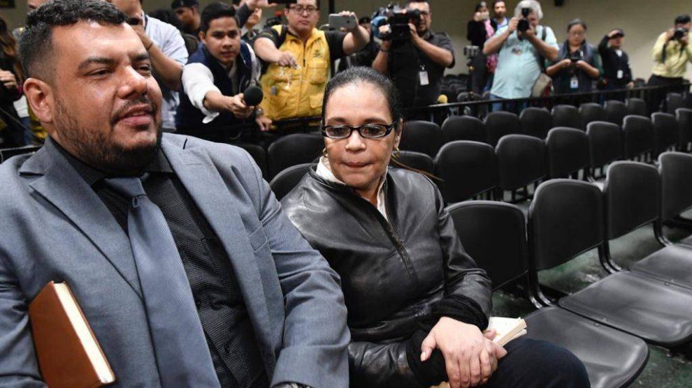 Roxana Baldetti es condenada por corrupción.