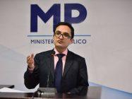 Juan Francisco Sandoval, jefe de la Fiscalía Especial contra la Impunidad (FECI).