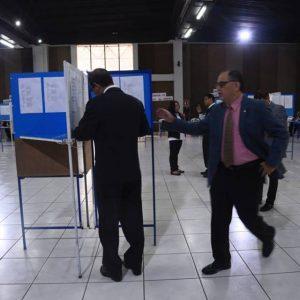 Elección del Colegio de Abogados y Notarios de Guatemala (CANG).