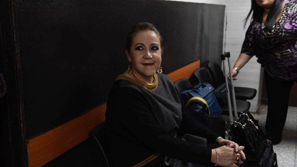 Blanca Stalling, magistrada suspendida en el ejercicio de su función en la Corte Suprema de Justicia (CSJ).