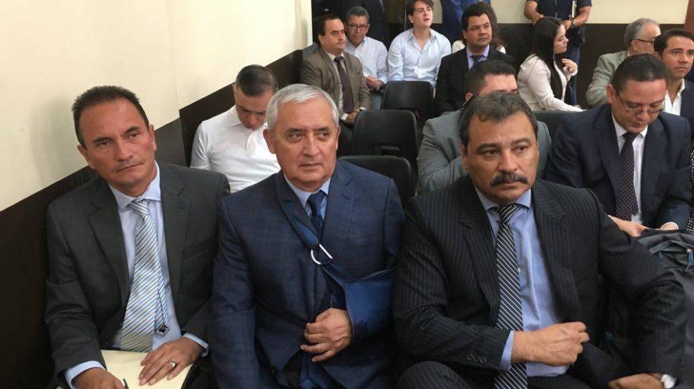 Otto Pérez Molina, expresidente de Guatemala.