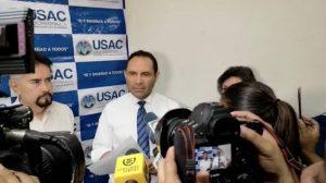 Murphy Paiz, rector de la Usac.
