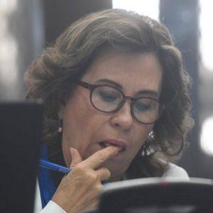 Sandra Torres, excandidata presidencial.