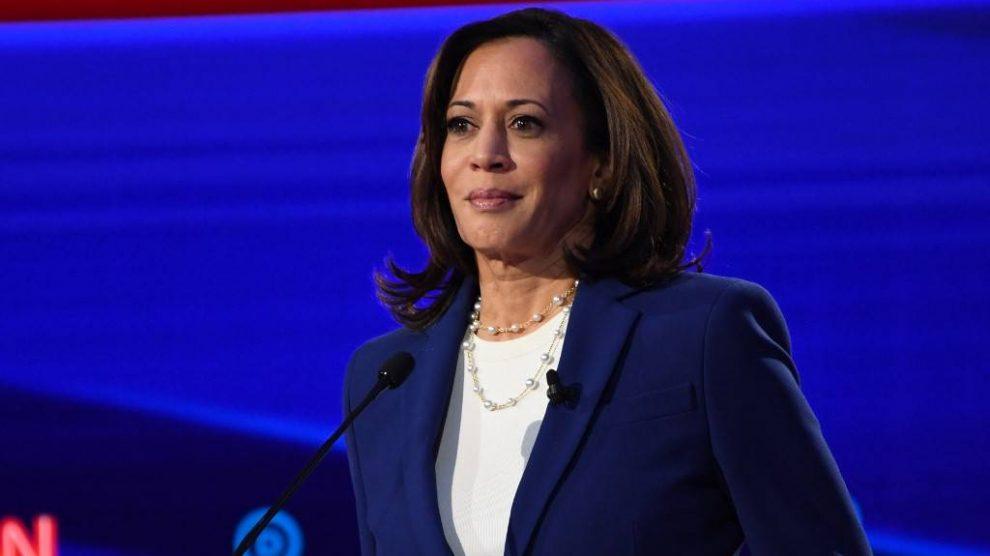 Kamala Harris, vicepresidente de Estados Unidos