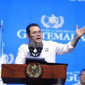"""FCN-Nación: """"Rechazamos los señalamientos espurios e ilegítimos en contra de Jimmy Morales"""""""