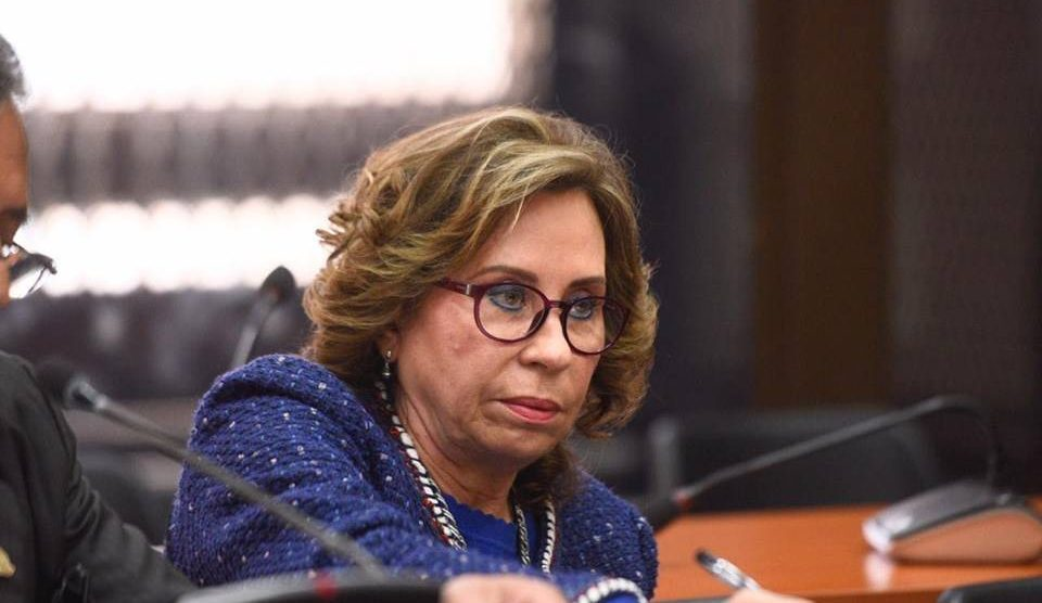 Sandra Torres enfrenta a la justicia.