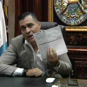 Neto Bran, alcalde de Mixco.
