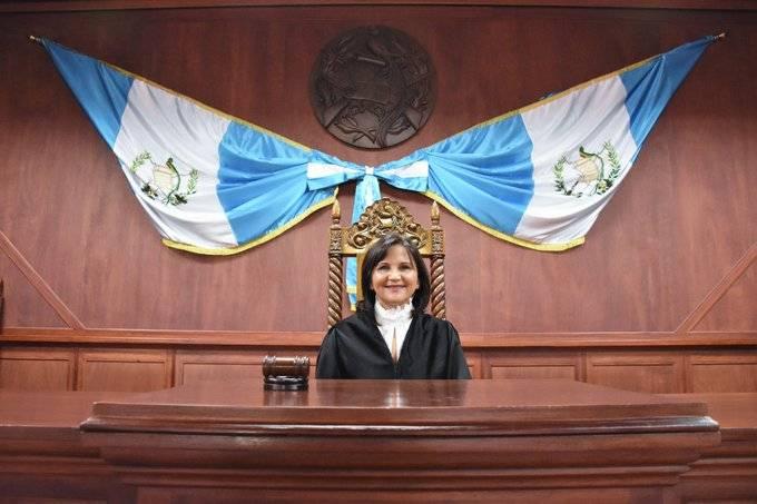 Gloria Porras, magistrada de la CC.