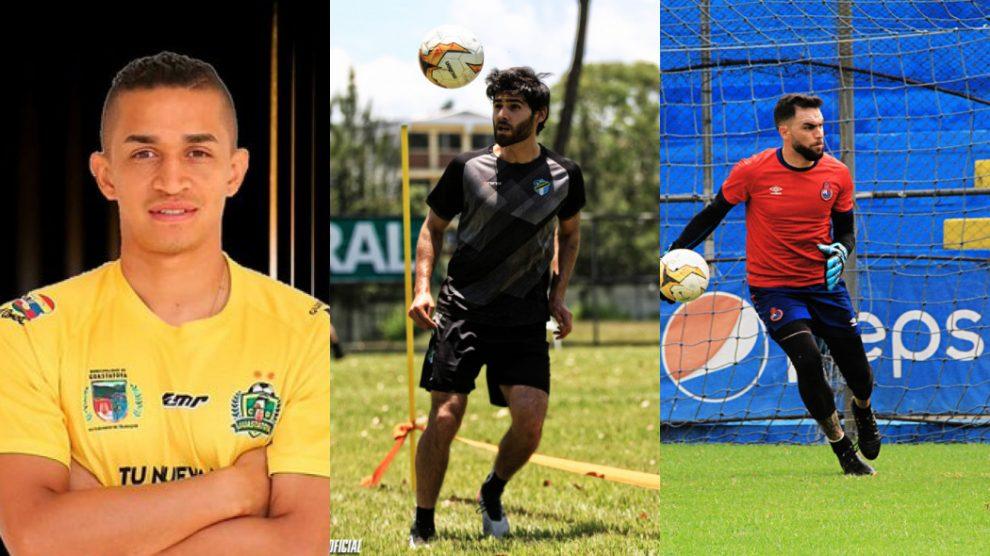Contrataciones de los equipos de Liga Nacional, Torneo Apertura 2020