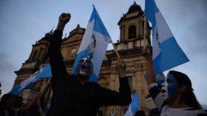 Manifestación en la Plaza de la Constitución