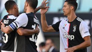Juventus vence al Torino y Cristiano anota
