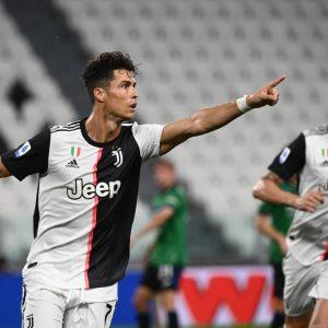 Cristiano hace dos goles en el empate de la Juve frente Atalanta