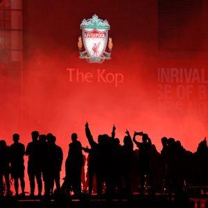 Varios aficionados fueron detenidos en festejos del Liverpool