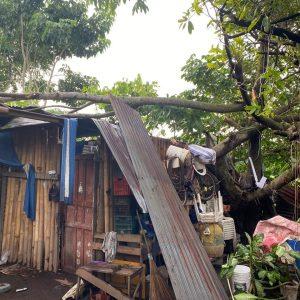 Nueve departamentos fueron afectados por la lluvia durante los últimos 7 días.