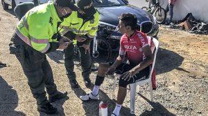 Nairo Quintana fue atropellado