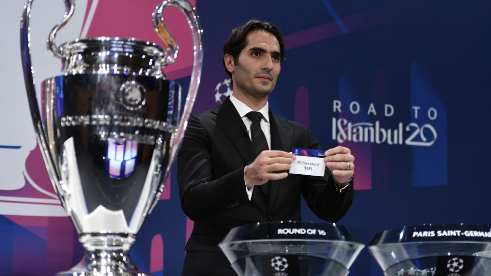 Sorteo cuartos de final Champions League
