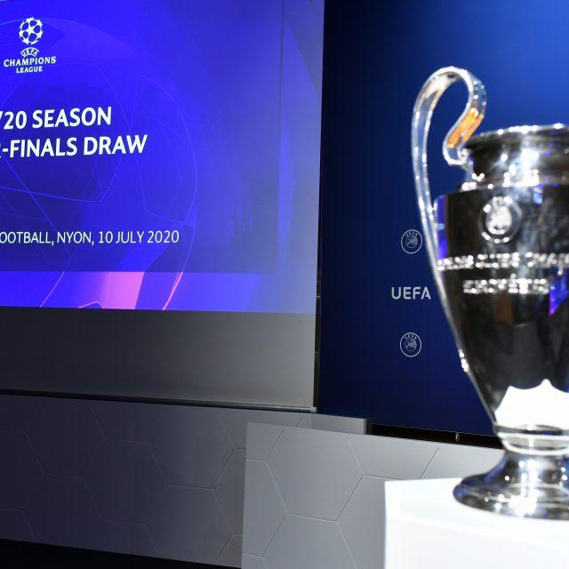 Sorteo cuartos de final, Liga de Campeones de Europa