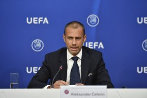 UEFA no contempla plan B para fase final de la Champions