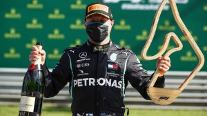 Valtteri Bottas, ganador del GP de Austria 2020