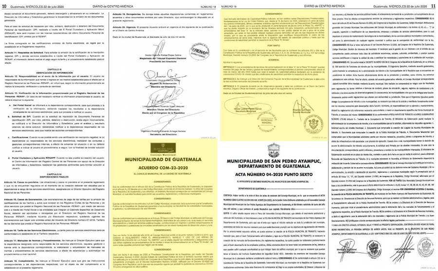 Acuerdo municipal 23-2020
