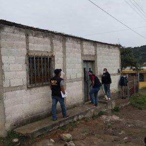 allanamientos por asesinato de esposos en Jalapa