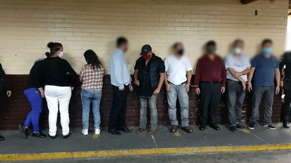 Capturados tras reunión clandestina en zona 1