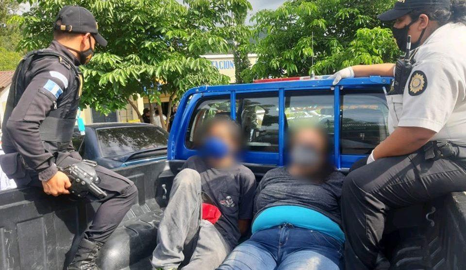 Capturados por robo de vehículo