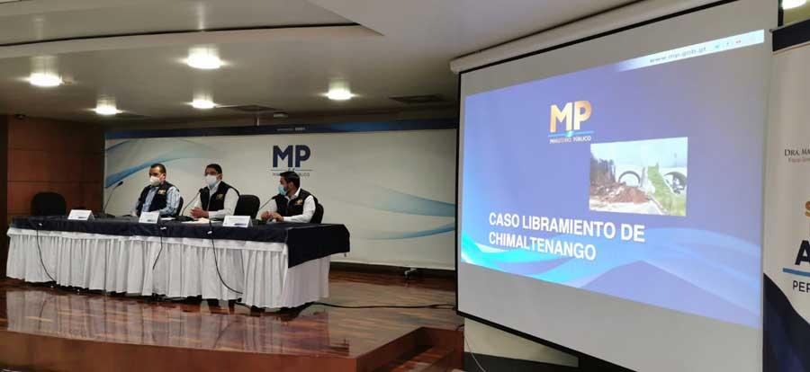 Caso Libramiento de Chimaltenango presentado por el MP
