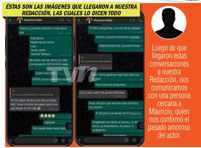 Chat Mauricio Mejía